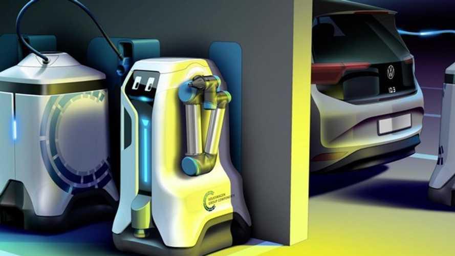 Robot ricarica Volkswagen