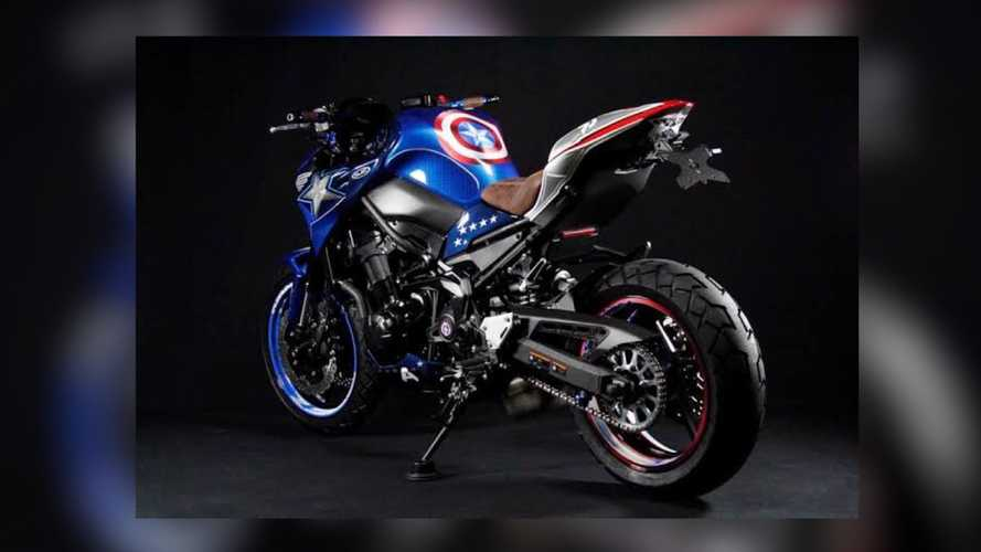Would Captain America Ride A Japanese Motorcycle?