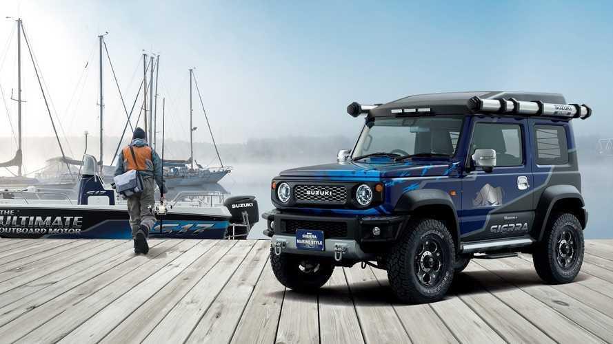 Conoce la edición especial Sierra Marine Style del Suzuki Jimny