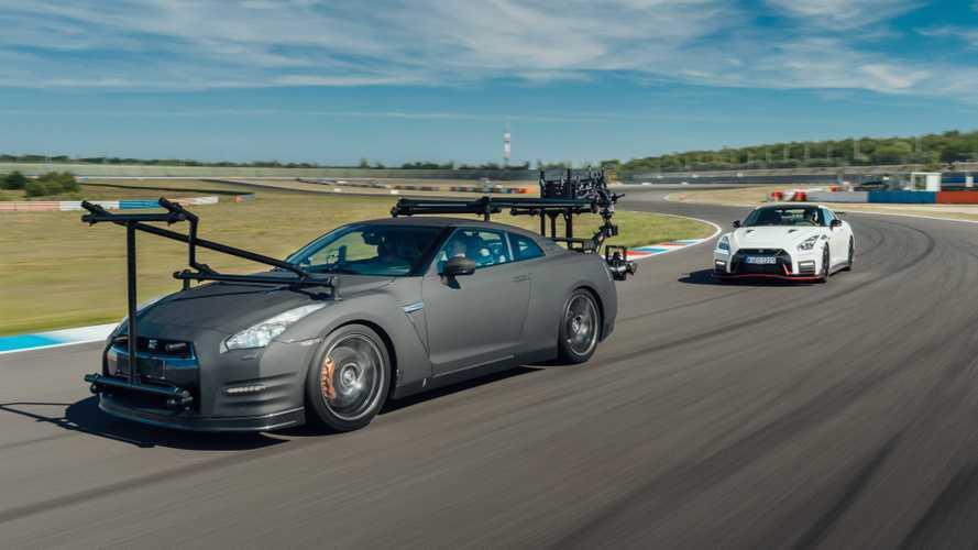 La Nissan GT-R se transforme en camera car
