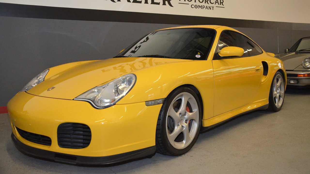 Spool Up In This 2002 Porsche 911 Turbo