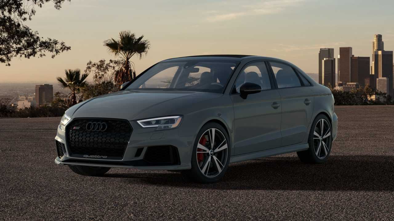 2020 Audi Rs3 Nardo Edition Gets Higher Top Speed Visual Upgrades
