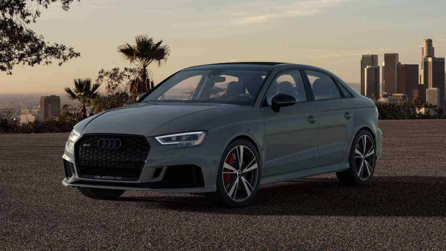 2020 Audi RS3 Nardo Edition Gets Higher Top Speed, Visual Upgrades