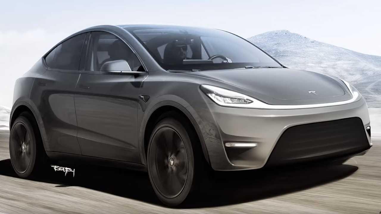 Off-road Tesla Model Y