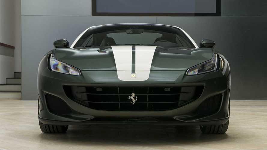 ¿Te convence el Ferrari Portofino en color verde?