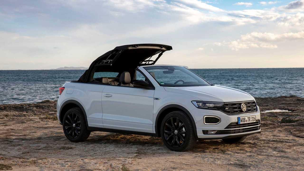 VW T-Roc Cabriolet (2020) a helyszínen