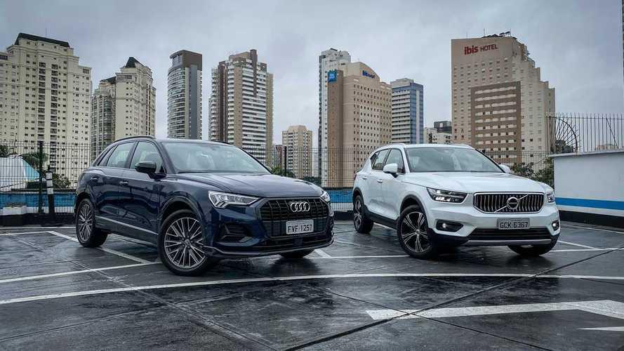 Comparativo: Novo Audi Q3 encara Volvo XC40 pela liderança do segmento