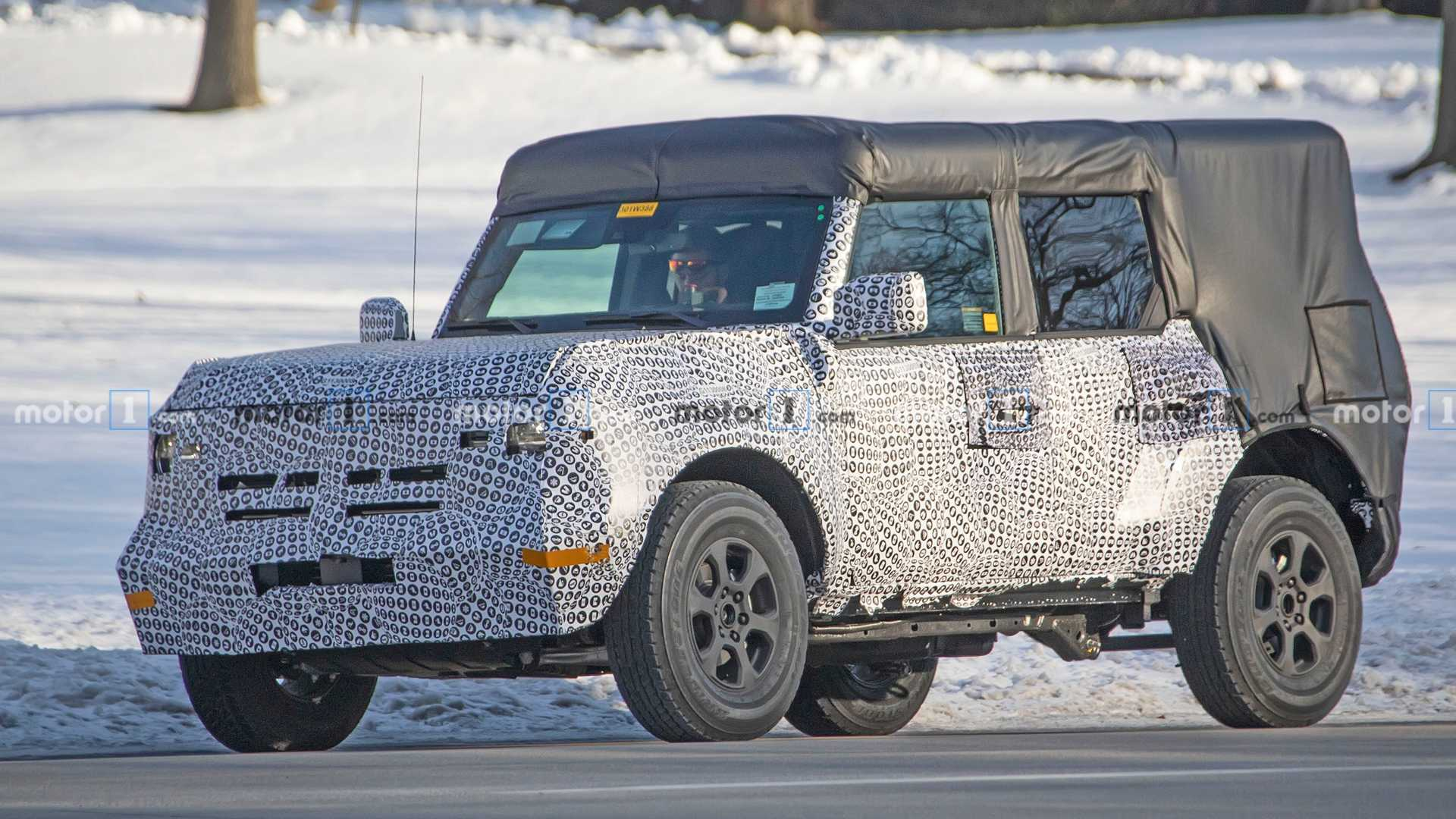 Ford Bronco Detailed Inside And Out In 28 New Spy Shots