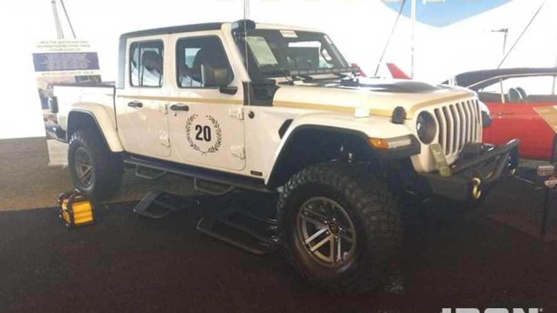 "[""Austin Hatcher Foundation 2020 Jeep Gladiator Auction""]"
