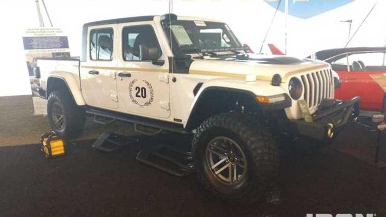 Austin Hatcher Foundation 2020 Jeep Gladiator Auction