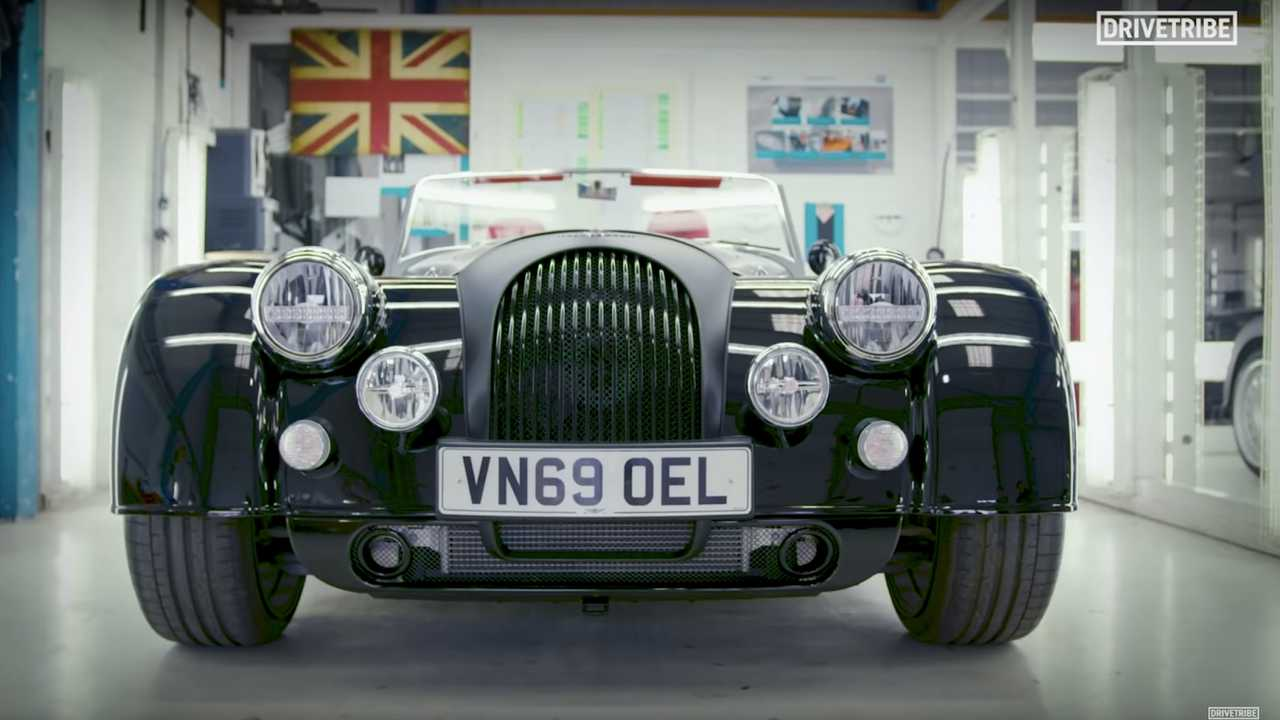 Richard Hammond's New Fan-Specced Morgan Plus Six Looks Stunning - Motor1
