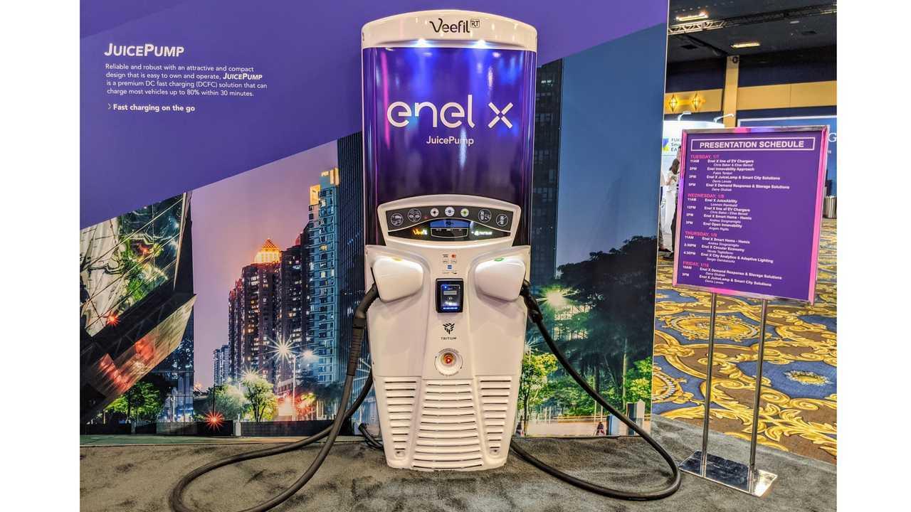 Enel X Launches Next Generation JuiceBox, JuicePump at CES