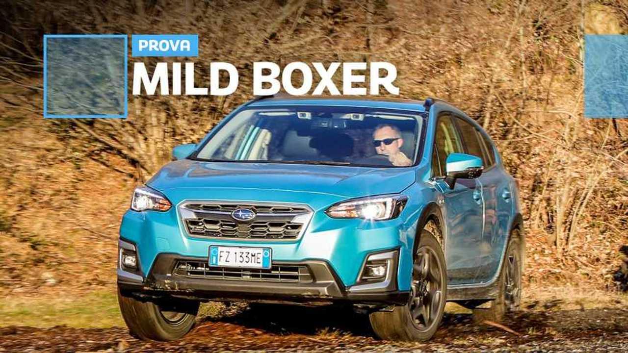 prova Subaru e-Boxer