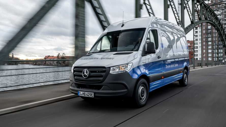 Electric Mercedes-Benz eSprinter starts at almost £52,000... Plus VAT