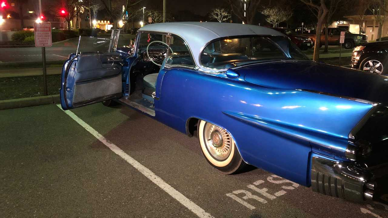 Stolen 1956 Cadillac Returned To 106-Year-Old WWII Vet