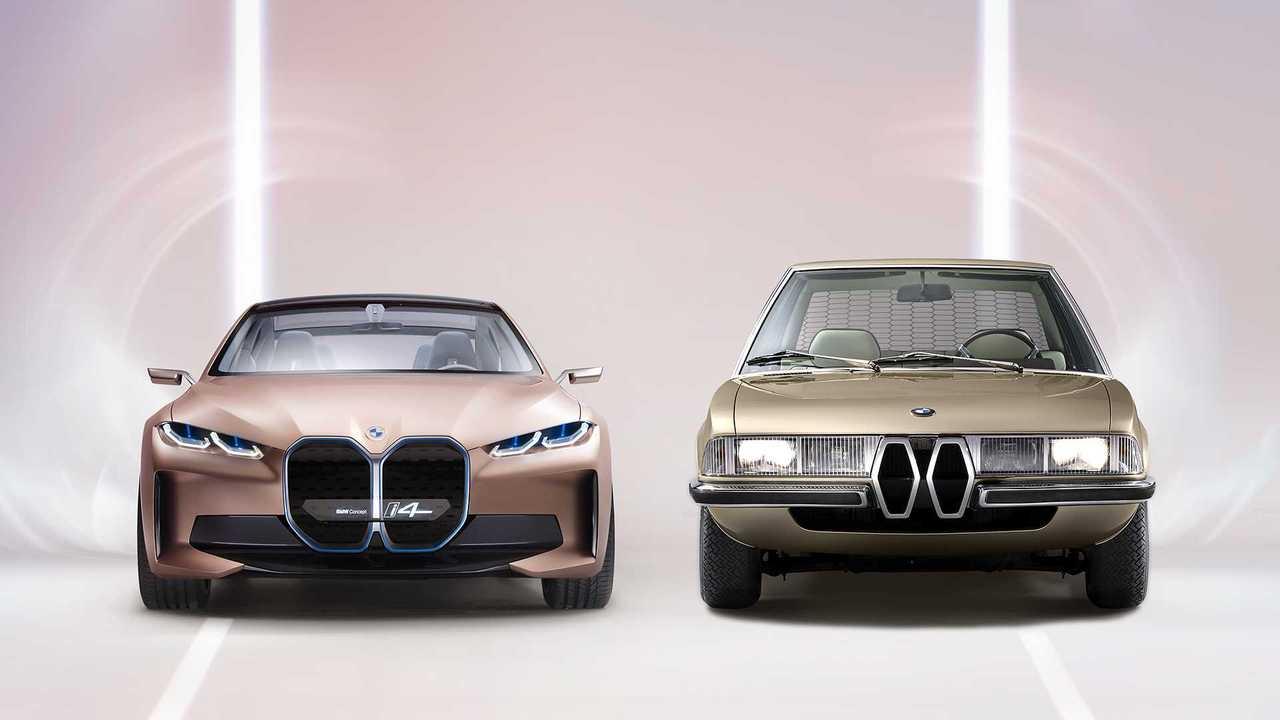 Copertina Ist die Idee zur extragroßen BMW-Niere schon 50 Jahre alt?