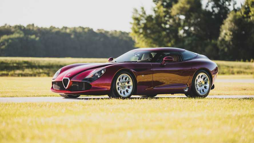 Une Alfa Romeo TZ3 Stradale Zagato très rare va être vendue