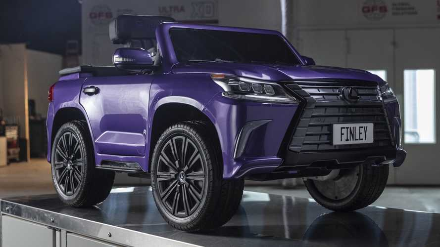Lexus builds LX Convertible toy car for a noble cause