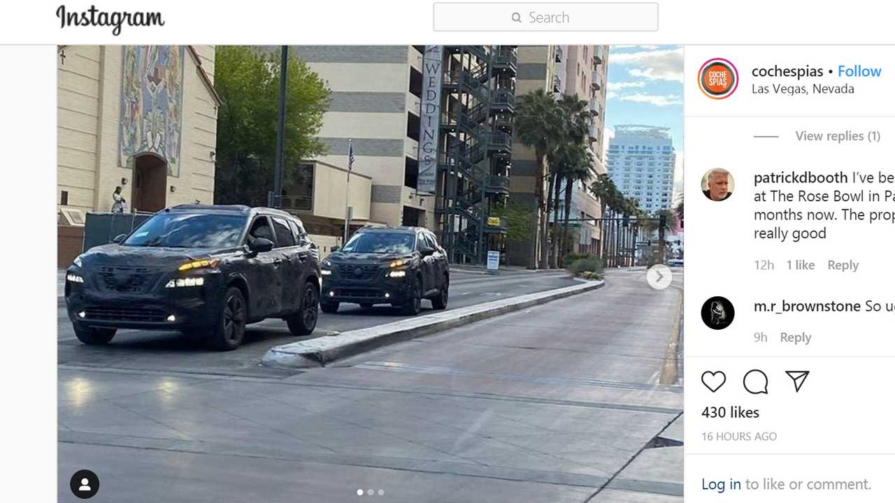 Nissan Rogue Spy Screenshot