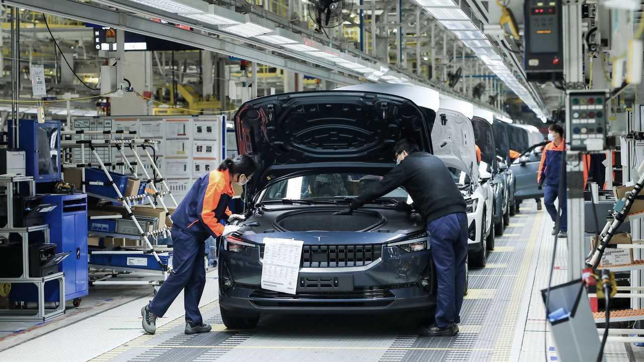 produção de carros elétricos na China