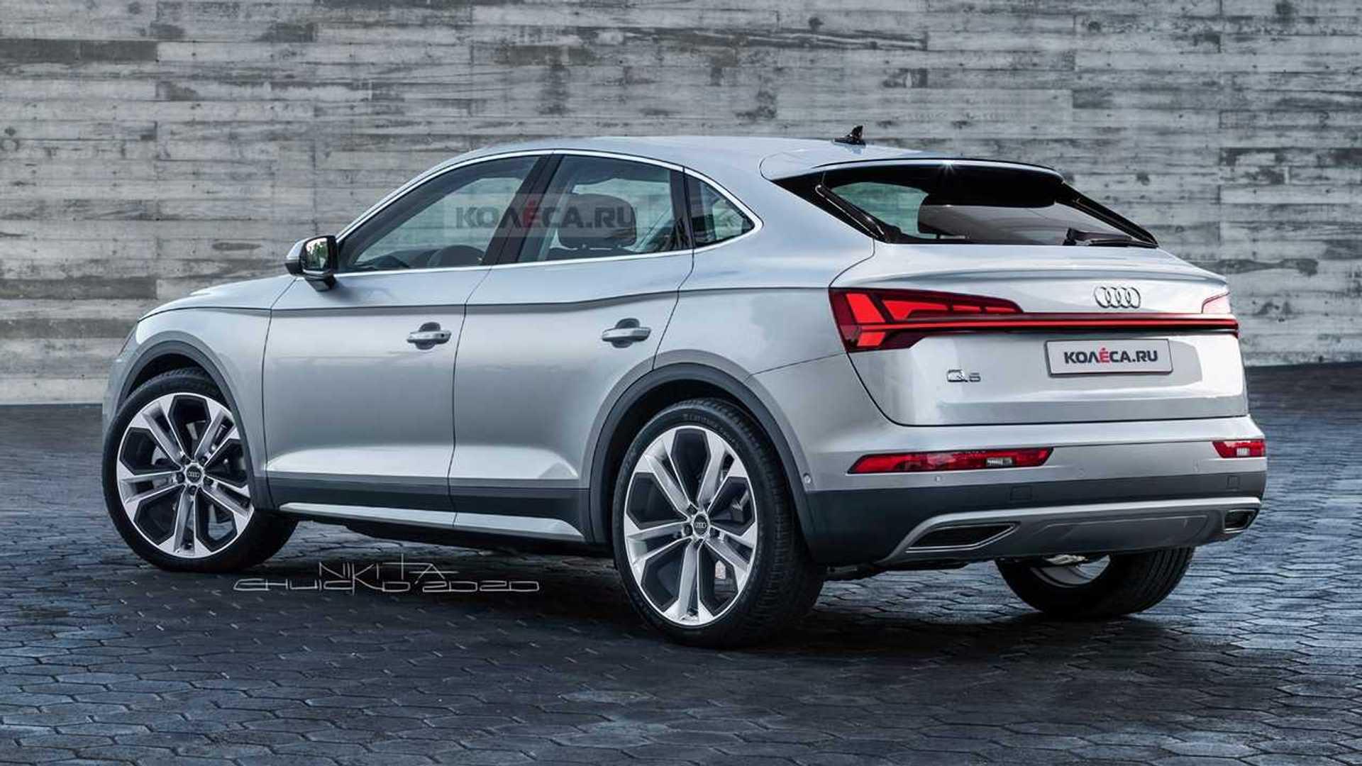 Este Render Del Audi Q5 Sportback Vislumbra El Nuevo Suv Coupé