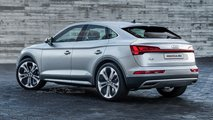 audi q5 sportback render recreacion