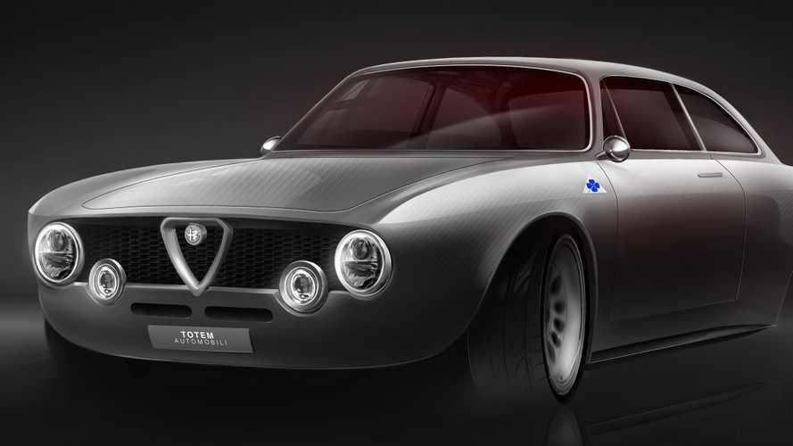 Totem GT Electric, un Alfa Romeo Giulia eléctrico para Goodwood
