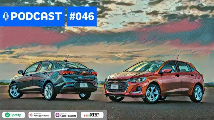 Motor1.com Podcast #46: Retrospectiva 2019 discute Onix, HB20 e Corolla