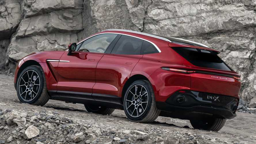 Aston Martin DBX rendered with DBS rear looks good