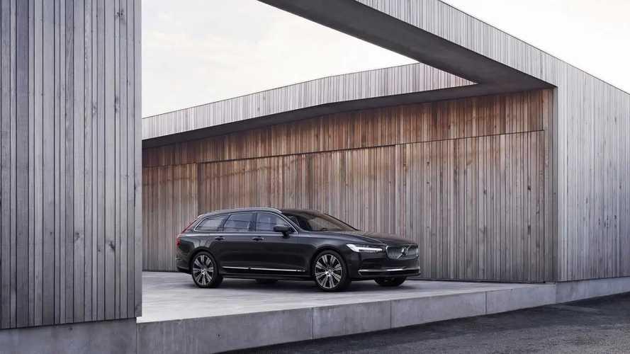 Volvo V90 restyling (2020)