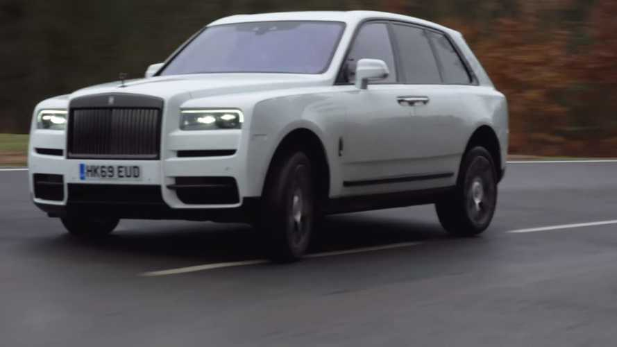 Rolls-Royce Cullinan Drift Attempt
