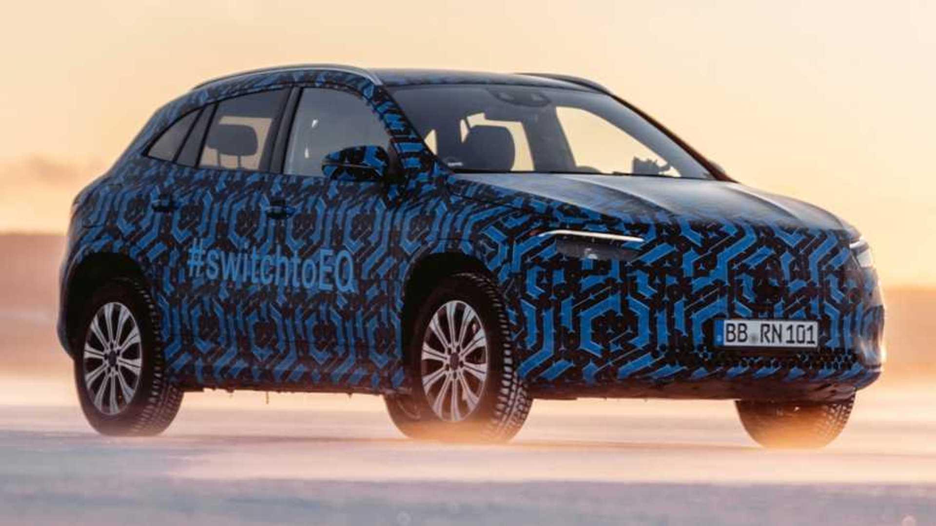 2020 Mercedes-Benz EQA 21