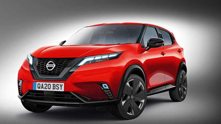 Посмотрите, каким может стать новый Nissan Qashqai