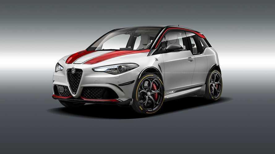 Az otthoni izoláció olyan szörnyeket teremthet, mint ez az Alfa Romeo i3 Quadrifoglio