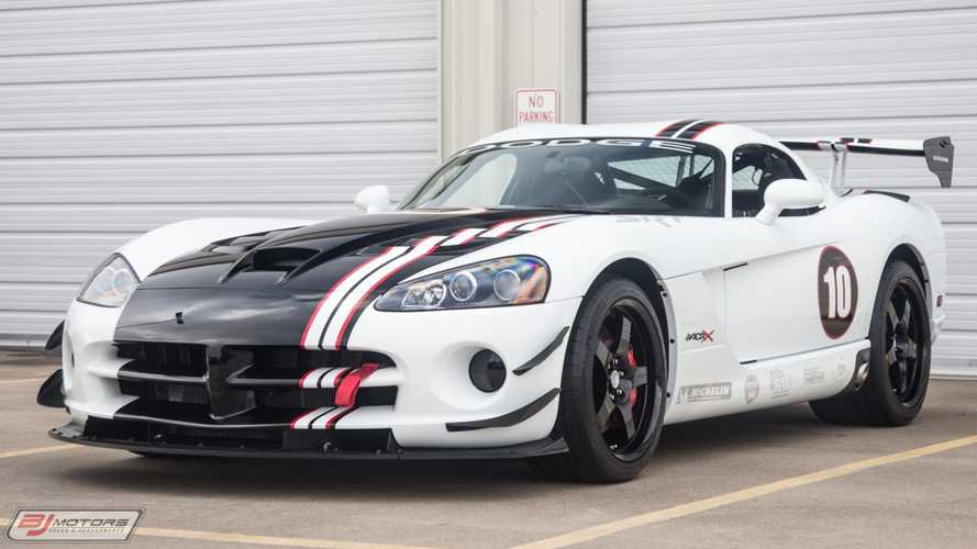 Rare $159,000 Dodge Viper ACR-X Has Only 10 Miles
