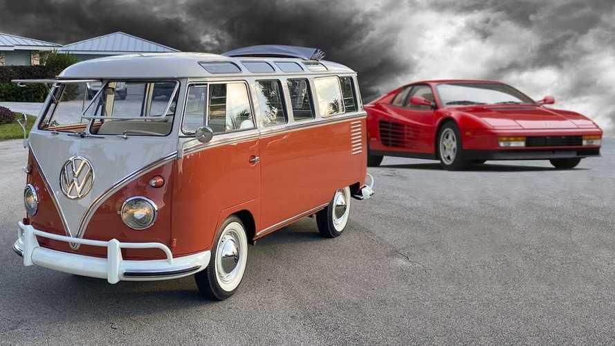 ¿Un Volkswagen Combi más caro que un Ferrari Testarossa? ¡Increíble!
