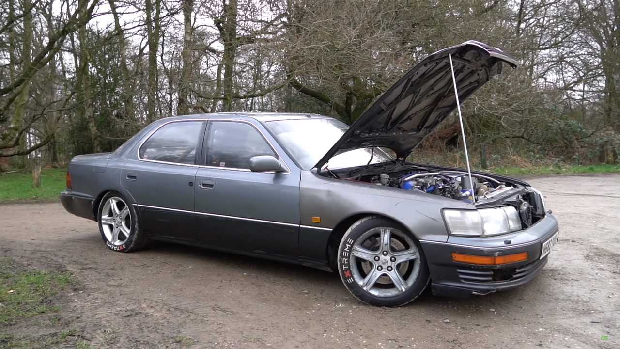 Epic Lexus LS400 Drift Car Is The 750-HP Sleeper Of Your Dreams