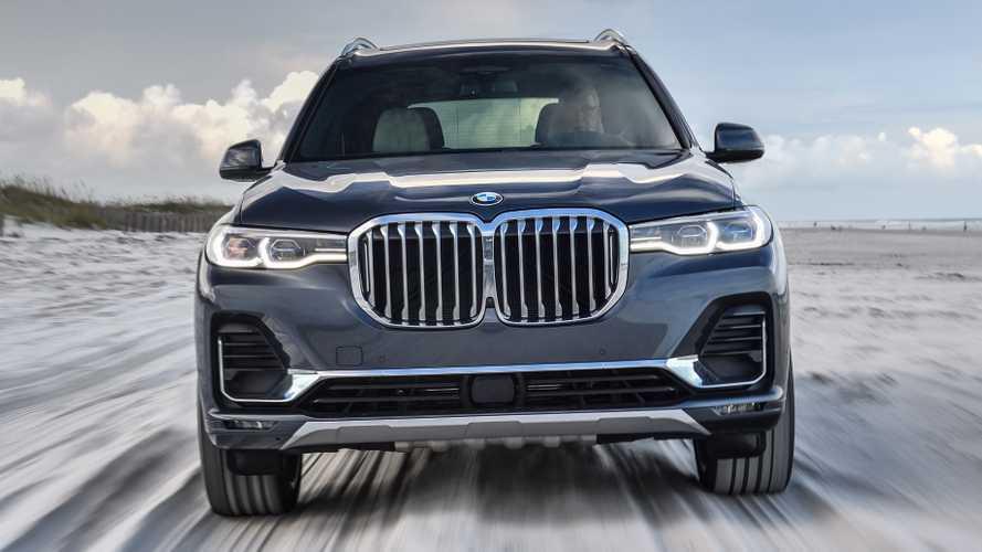 BMW X8 e X8 M, registrati i nomi per il nuovo SUV extra large