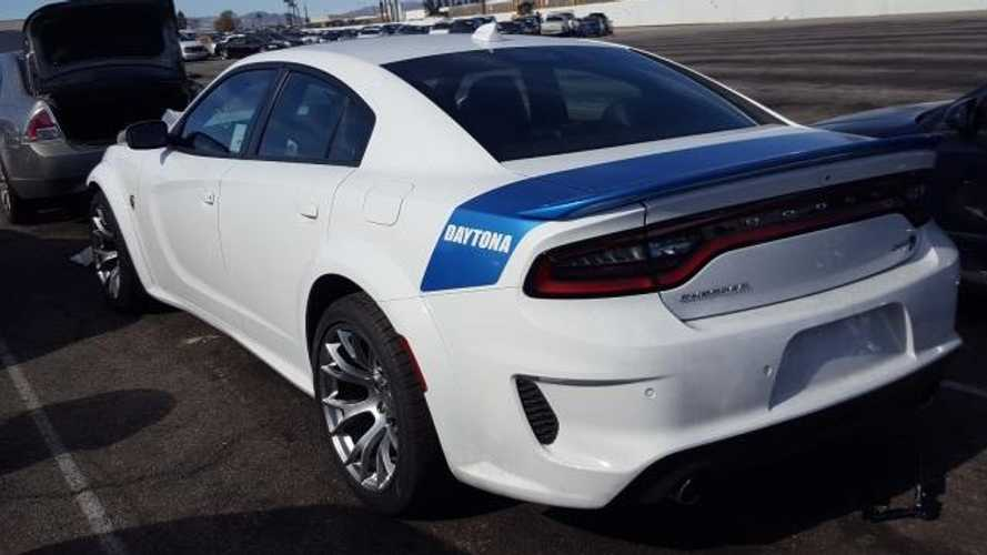 Crashed 2020 Dodge Charger Srt Hellcat Widebody Daytona