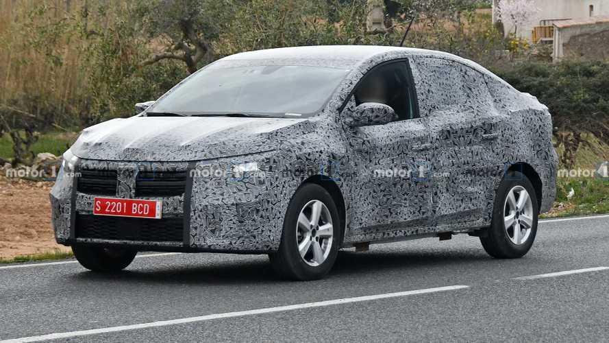 Szinte teljesen letakarva teszteli a Dacia a megújult Logant