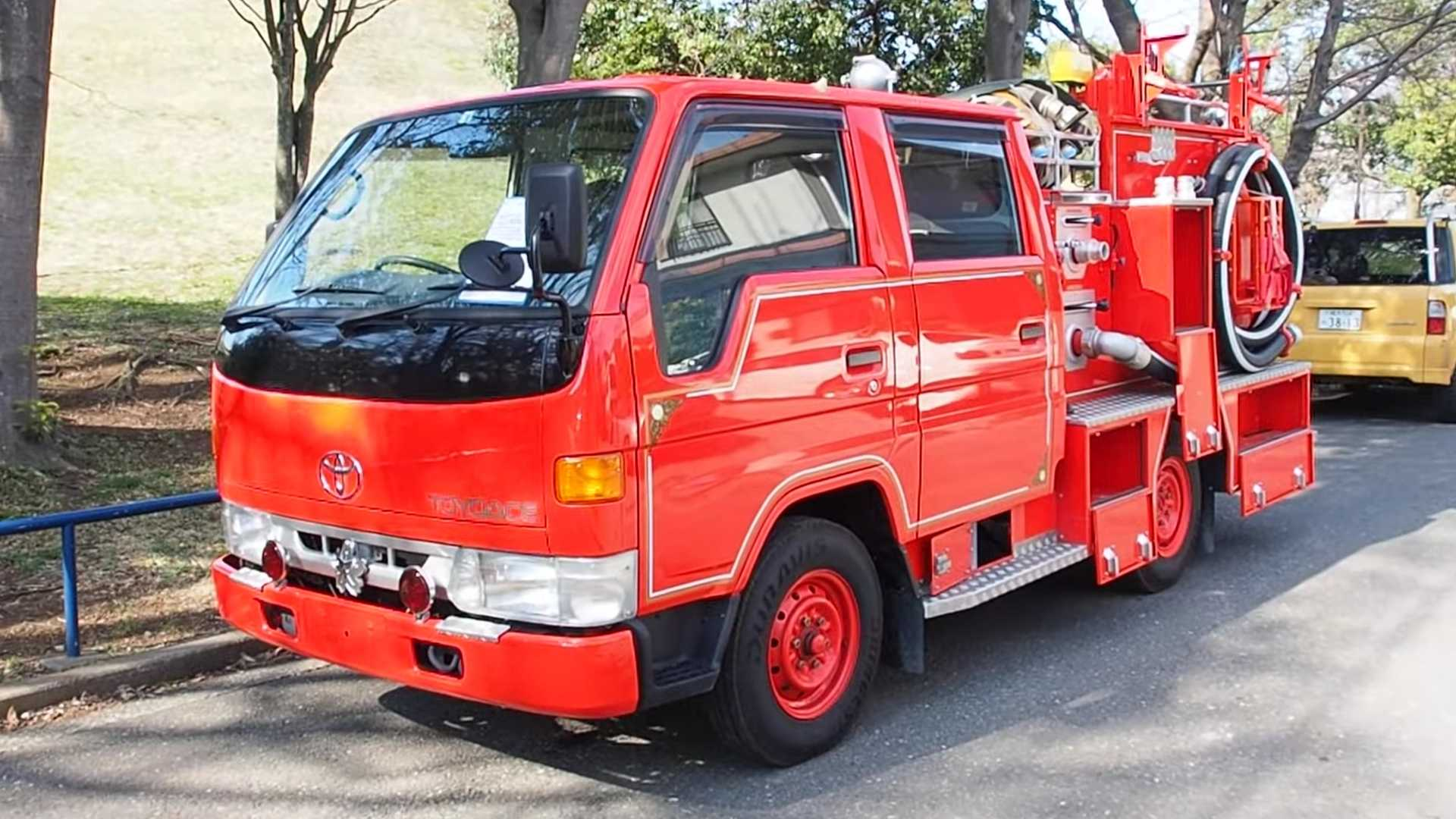 Toyota ToyoAce Fire Truck USA Import