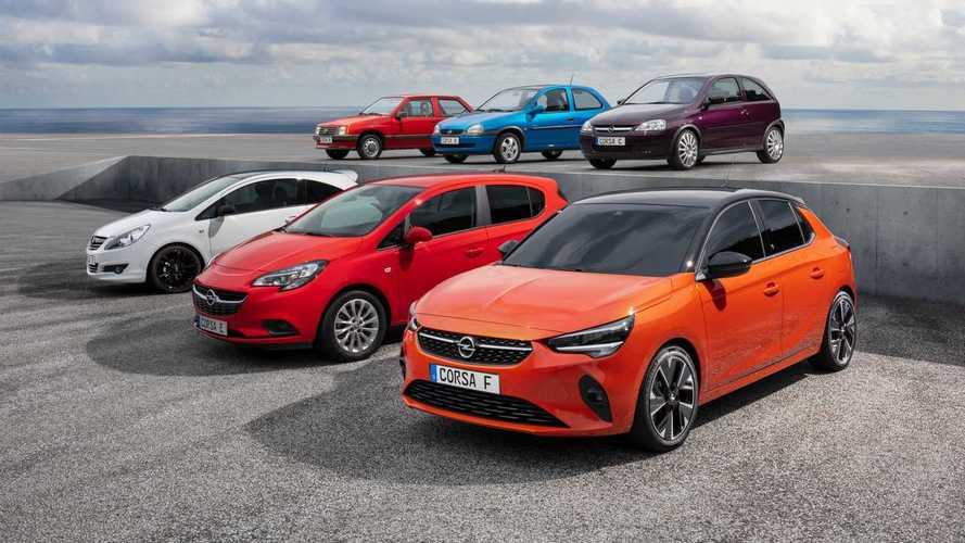 Opel Corsa: la historia del famoso utilitario, en 7 imágenes