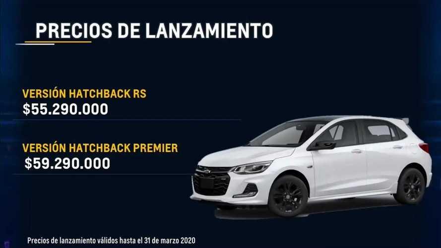 Chevrolet Onix RS (Colômbia)