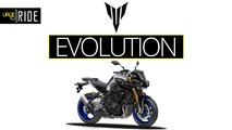 yamaha mt fz series timeline evolution