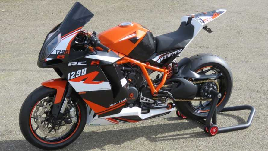 Garage Builder Revives KTM RC8 With 1290 Super Duke Engine