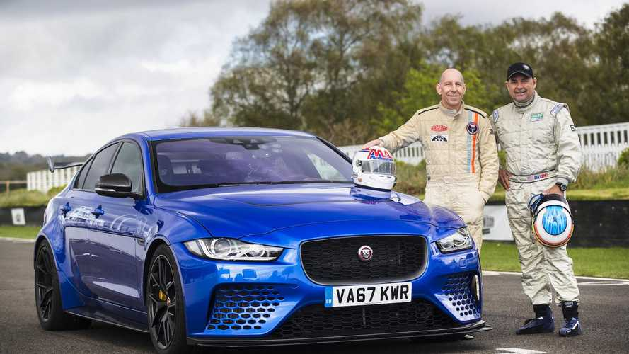 Le Mans legends test the Jaguar Project 8