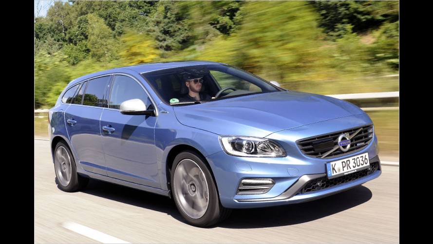 Volvo V60 Plug-in-Hybrid R-Design im Test