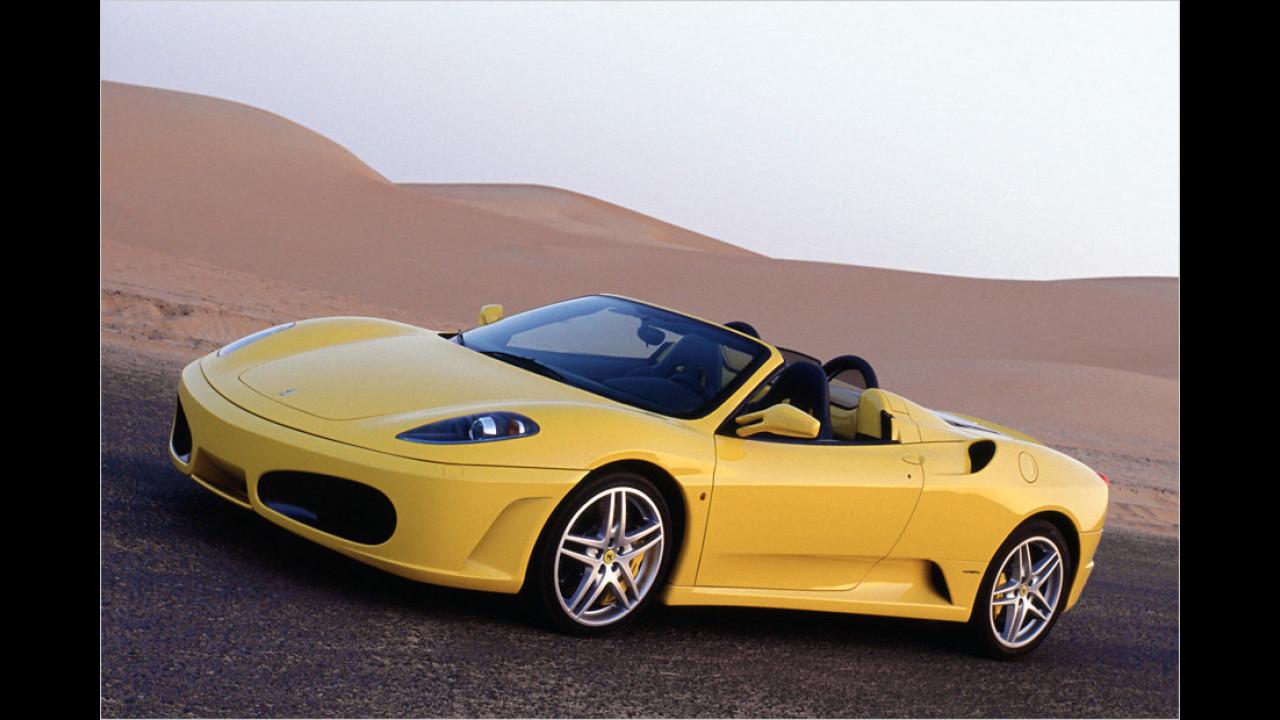 Ein Exemplar: Ferrari F430