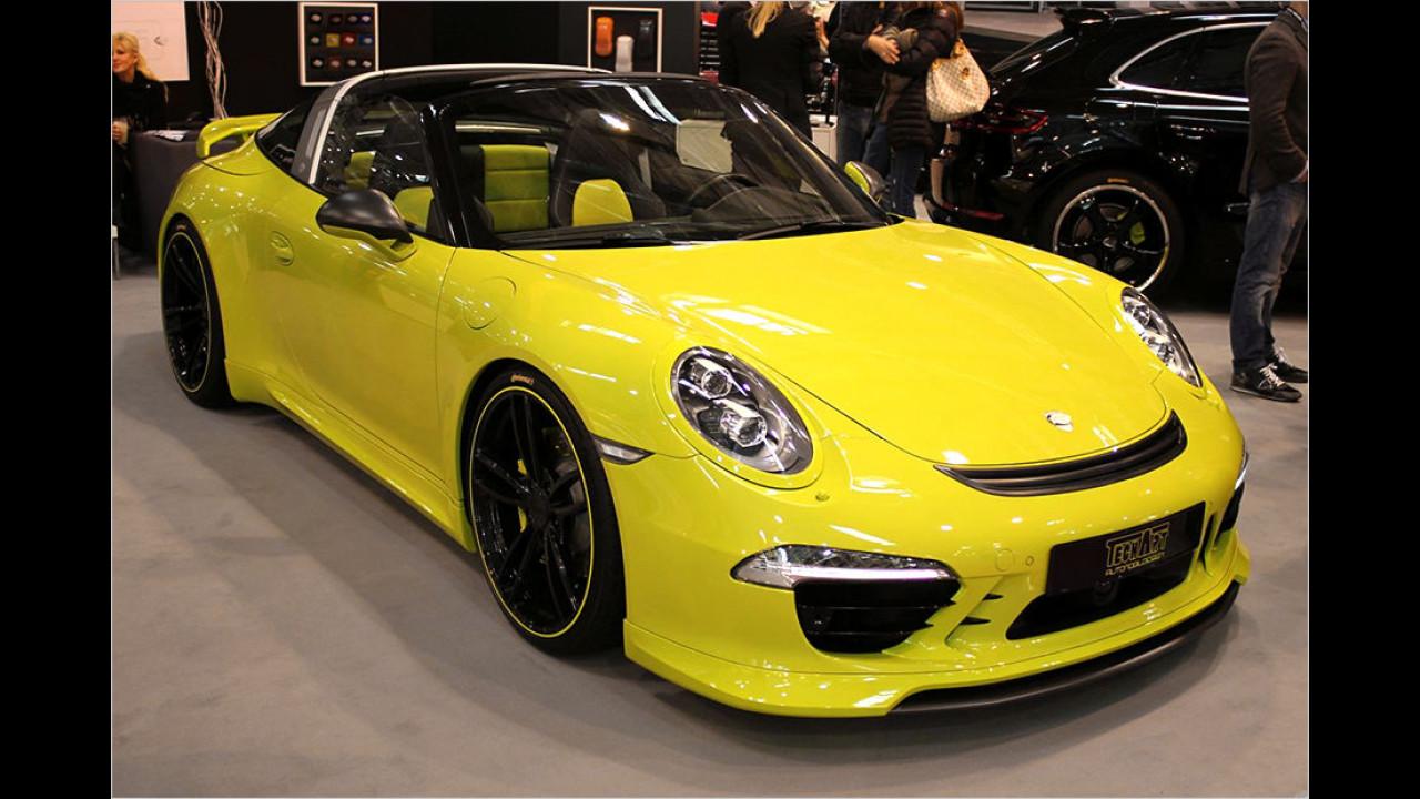 TechArt Porsche 911 Carrera 4 Targa