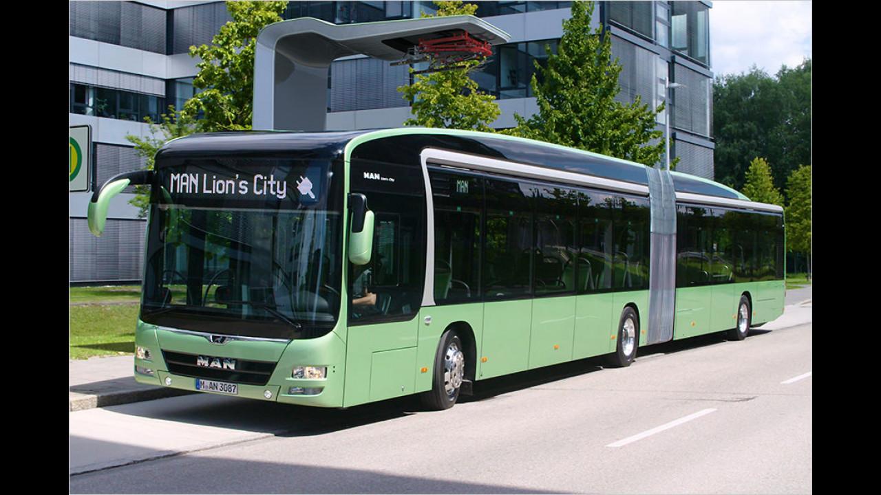 MAN Lion`s City Gelenkbus (Elektro)